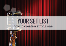 Creating Your Set List