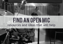 Find an Open Mic