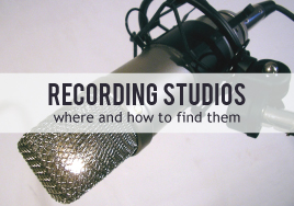 The Right Recording Studio for Your Music