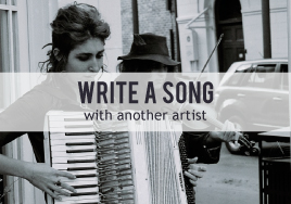 Collaborate: Write a Song with Another Artist