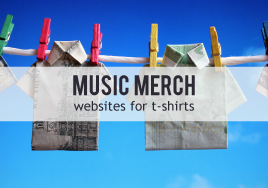 Music Merch: Websites for T-Shirts