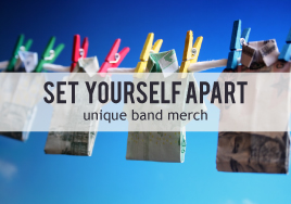 Set Yourself Apart: Unique Band Merch
