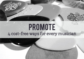 Promote your music on a budget