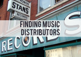 Finding Music Distributors