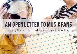 An Open Letter to Fans: Enjoy the Music, but Remember the Artist
