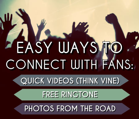 Tips for Connecting With Fans