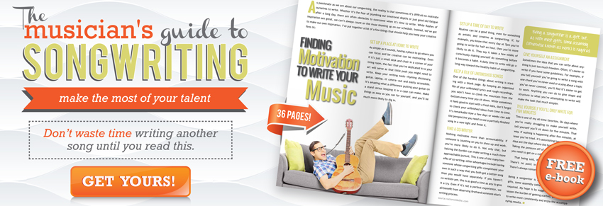 Free guide to songwriting