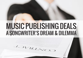 Songwriter publishing deals