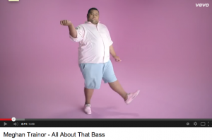 "Still from ""All About That Bass"""