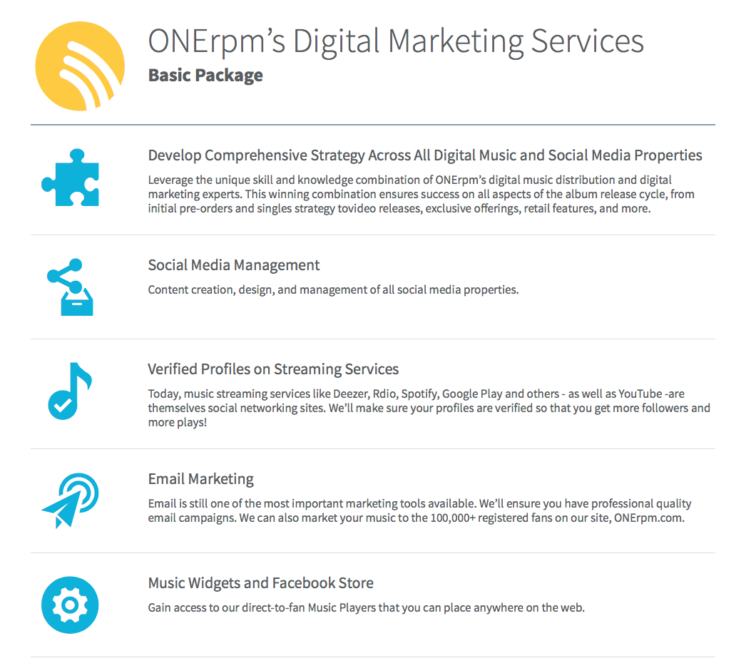 ONErpm Marketing